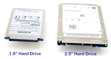 laptop hard drive comparison, 1.8