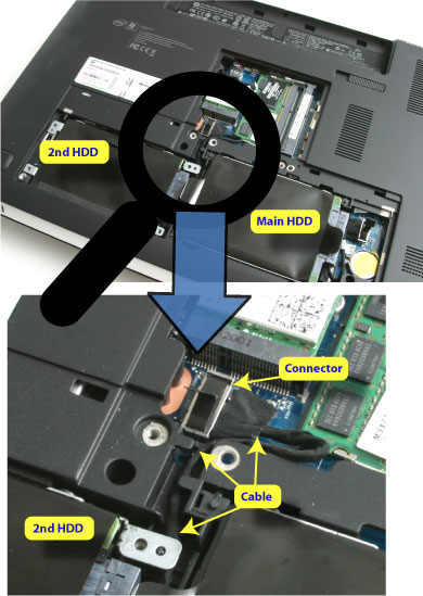 how to set up a second hardd drive