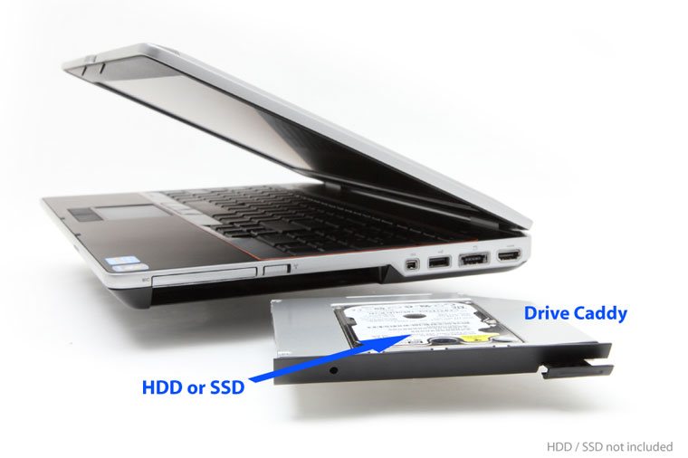 how to install sdd on hard drive