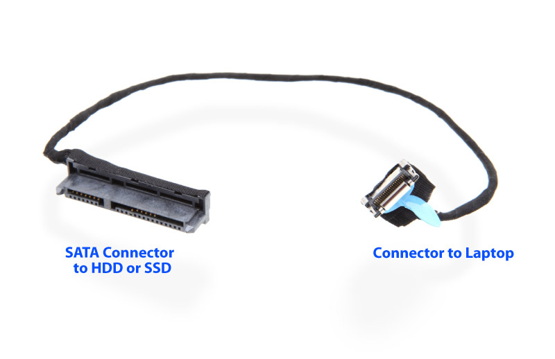 2nd Hdd Sata Cable Kit For Hp Dv7 6000 6100 6b00