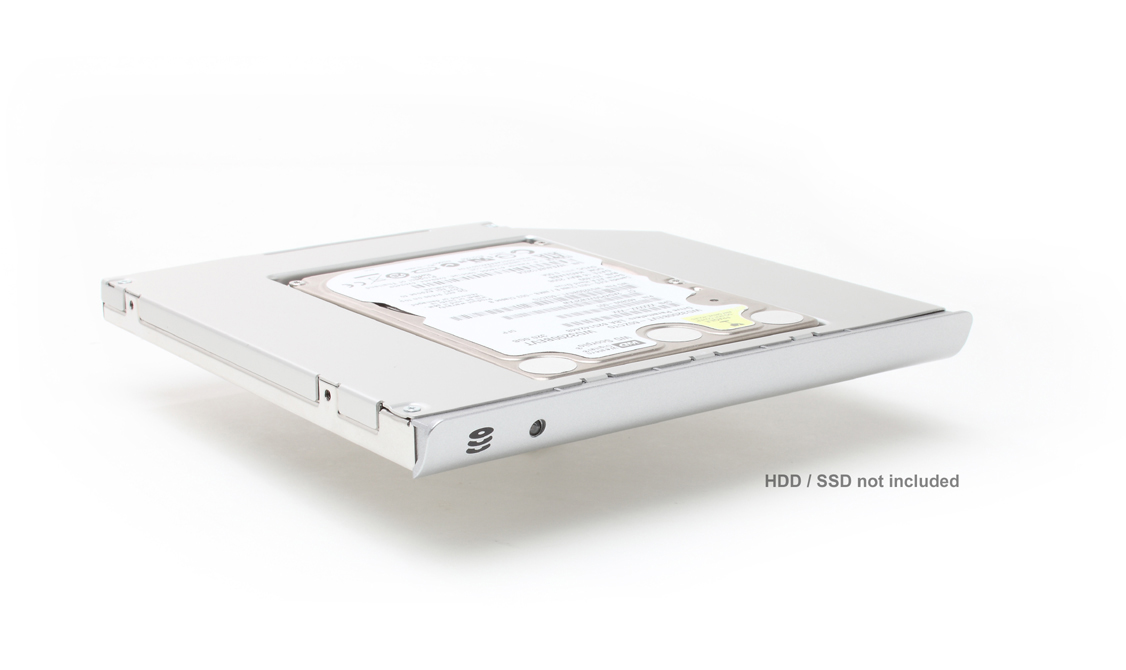 2nd HDD / SSD caddy for Sony VAIO SE Series (Silver) VPCSE