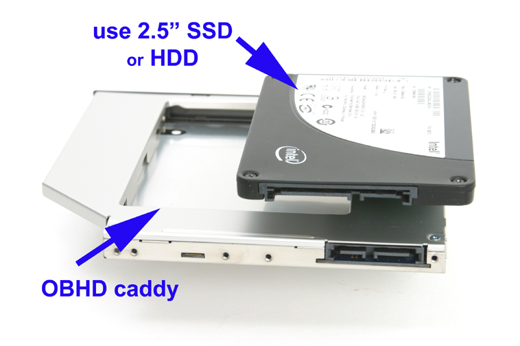 Deyoung 2nd Hard Drive HDD Caddy Adapter For Sony vaio vpc-eh2h1e VGN-NW20EF VGN-NW21JF