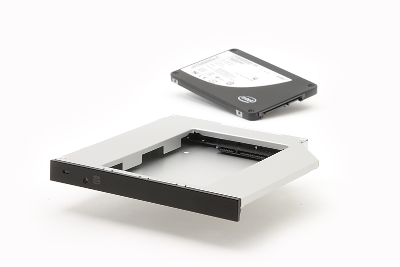 2nd Hard Drive / SSD Caddy for Satellite S500, S855 - Click Image to Close