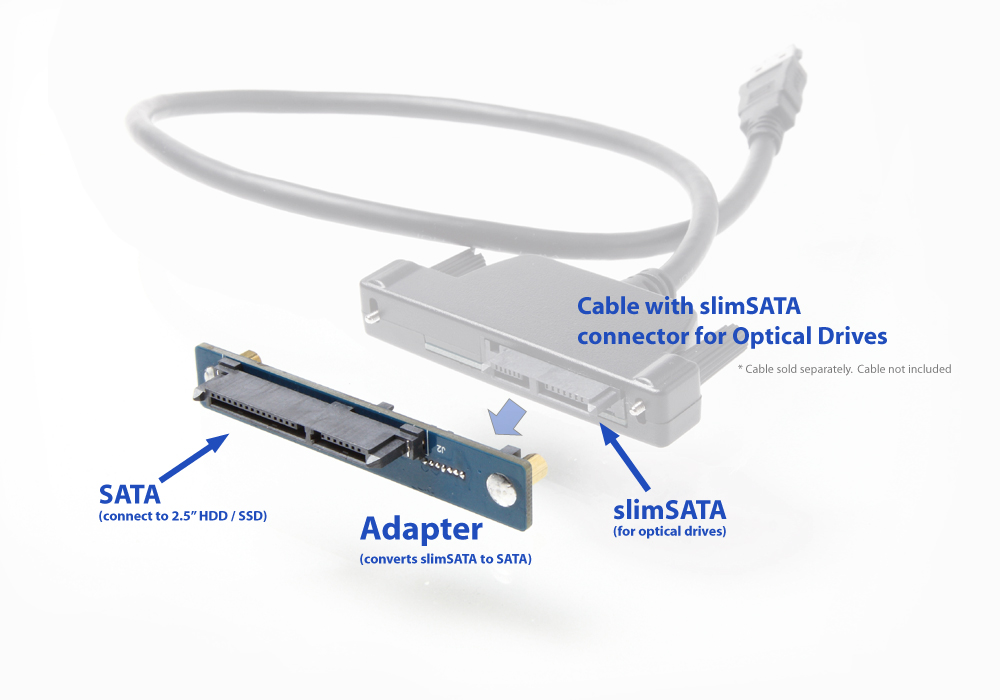 how to connect ssd to laptop externally